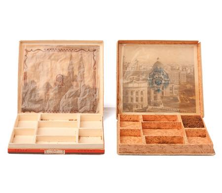 Ratne i poratne kutije - kolekcija 7 vrsta cigareta - 80 komada